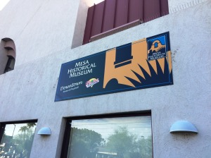 The Mesa Historical Museum is temporarily at 51 E Main St. in downtown Mesa.
